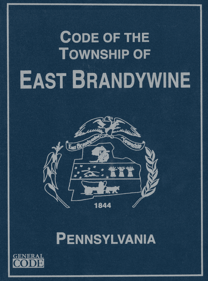 Ordinances & Code | East Brandywine, PA - Official Website